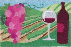 Jellybean Rug wine decor