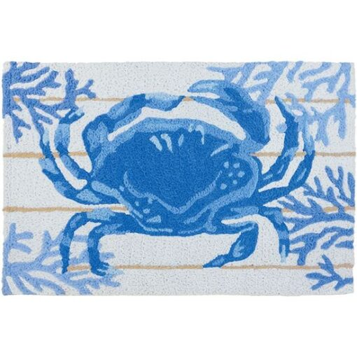 jellybean rug indigo crab