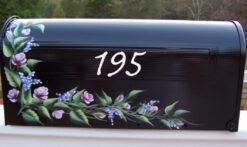 rosebuds mailbox