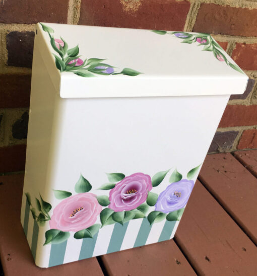 hand painted wall mount mailboxes