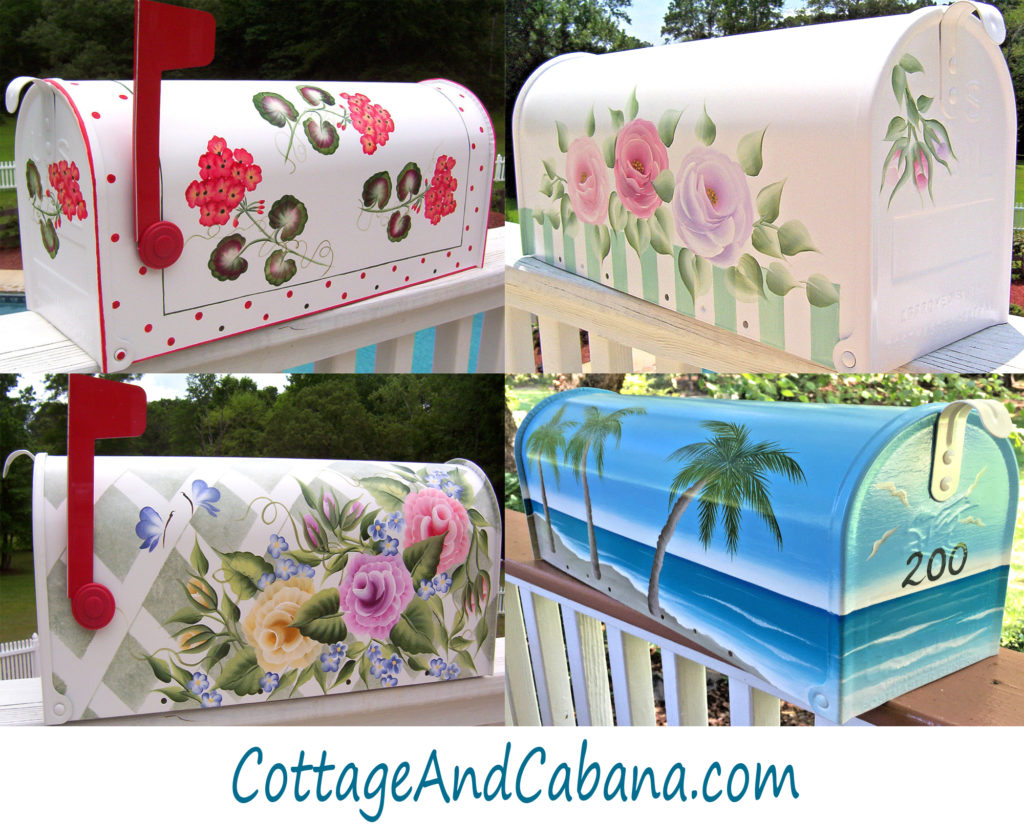 hand painted mailboxes 4 decorative painted mailboxes