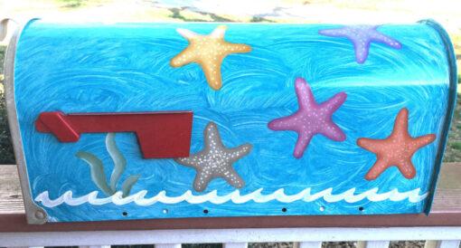 starfish beach mailbox