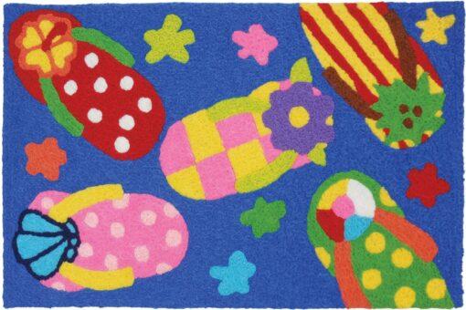 jellybean rug party sandal flip flops